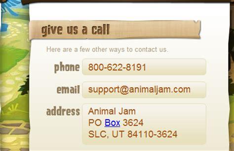 s secret customer service phone number aj hq animaljam s address and phone number