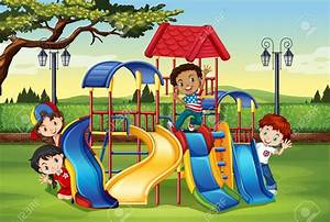 Playground Clipart - ClipartUse