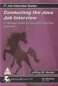 Books    Conducting The Java Job Interview It Manager