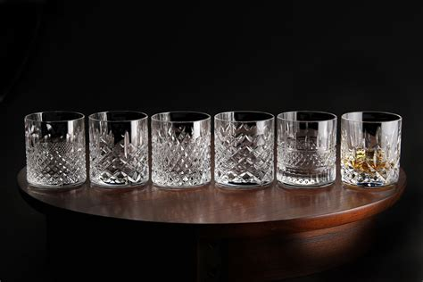 Whiskey Glas Kristall by Waterford Heritage Sided Whiskey