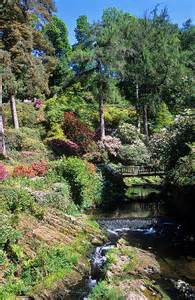 Bodnant Gardens Wales UK