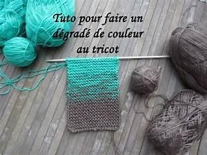 Faire Un Dégradé : tuto degrade de couleur au tricot color gradient knitting ~ Melissatoandfro.com Idées de Décoration