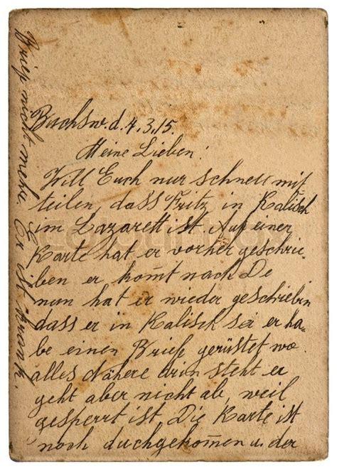 alten persoenlichen handschriftlichen  von