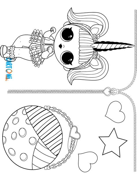 immagini da colorare lol unicorn unicorn da colorare serie 3 lol cartoni animati