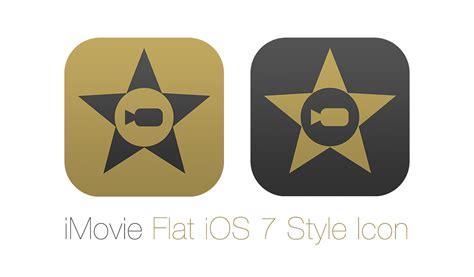 Imovie Flat Ios 7 Style Icon By Osullivanluke On Deviantart