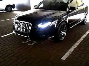 Audi A4 Custom Lights Audi A4 B7 Led Lights Custom Colour 19 Quot Rs4 Wheels Youtube