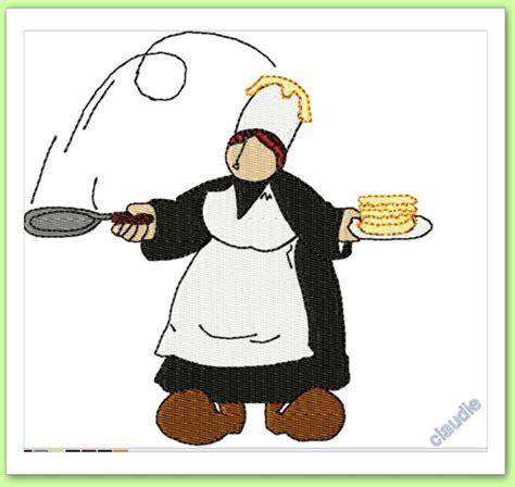 tablier de cuisine mam goudig fait des crêpes