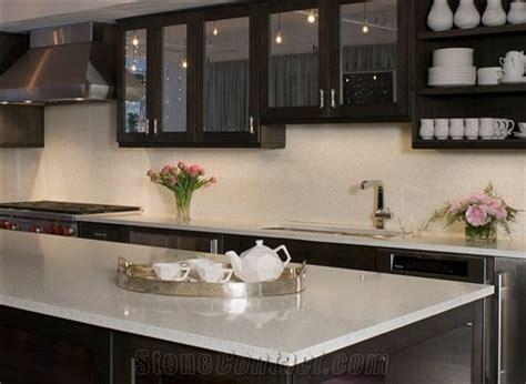 Non Granite Countertops - bestone white engineered quartz countertop non