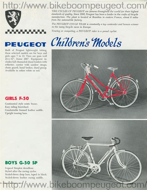 Peugeot Bikes Usa by Peugeot 1967 1968 Usa Flyer