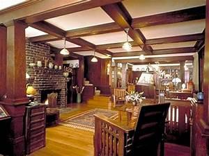 Craftsman style home interior designs interior design for Craftsman style home plans with interior photos