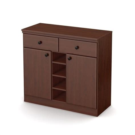 south shore storage cabinet royal cherry south shore storage console in royal cherry 7246770