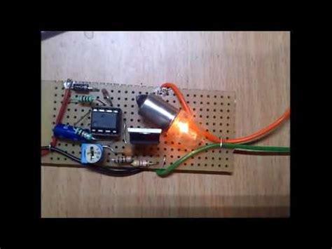 Timer Pwm Led Light Dimmer Circuit Youtube