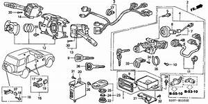 Combination Switch For 1998 Honda Cr