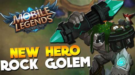 New Upcoming Hero Rock Golem! Mobile Legends