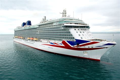 New Pu0026O Cruise Ship BRITANNIA Makes Her Debut