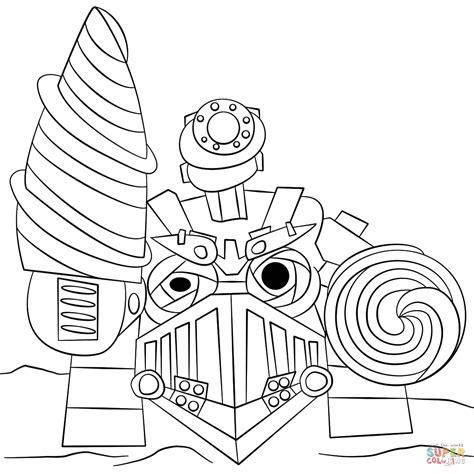 Skylanders Drill Sergeant Coloring Page Free Printable