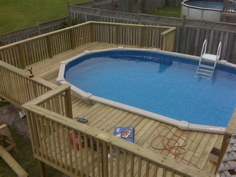 Above Ground Pool Deck Images by Best Swimming Pool Deck Ideas