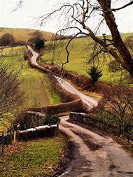 Winding Road Wales