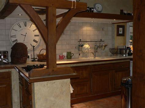r駭 cuisine rustique comment moderniser une cuisine rustique eleonore déco