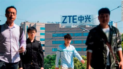 president says he s working with china to save zte