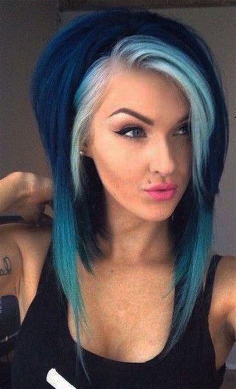 coiffure femme couleur