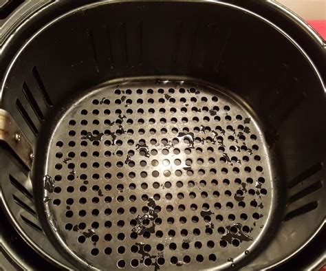 fryer air basket dry season wash baskets properly frying sticking prevent cooking food recipe