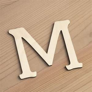 Wooden 6cm Alphabet