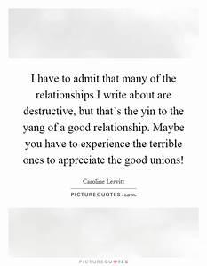 Yang Quotes   Y... Destructive Relationship Quotes
