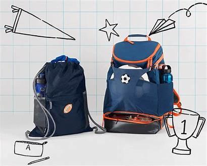 Drawstring Cinch Lands End Backpacks Bags