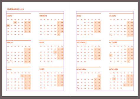 agendas plantillas indesign gratis imprimir