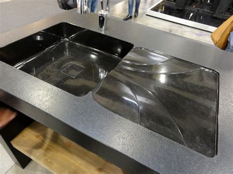 tout sur la cuisine évier granit noir flamme et polie vaucluse avignon isle