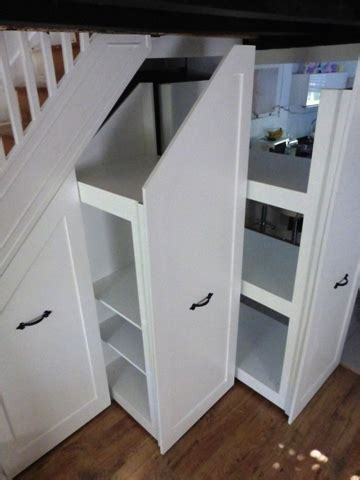 How much does under stairs storage cost to have built or