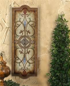 tuscan wall plaque tuscan wall decor pinterest