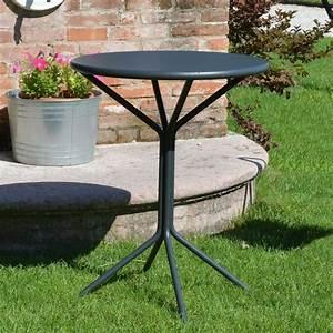 Runder Tisch 60 Cm : rig83 runder tisch aus metall durchmesser 60 cm f r garten sediarreda ~ Bigdaddyawards.com Haus und Dekorationen