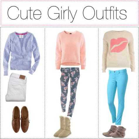 The gallery for --u0026gt; Cute Girly Outfits For School Polyvore