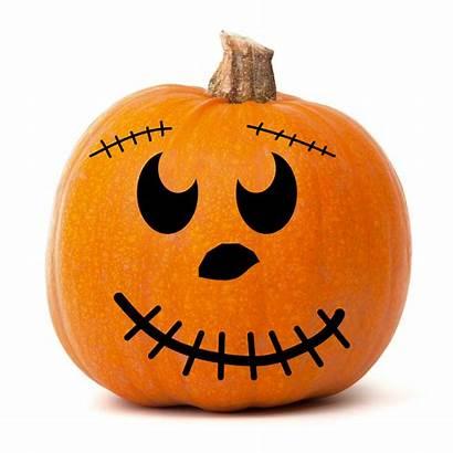 Pumpkin Face Smiley Quotes Faces Halloween Wall