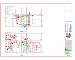 residential blueprints autocad hvac drafting sles