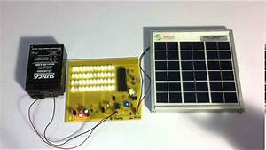 Solar Street Lights With Auto Intensity Controller