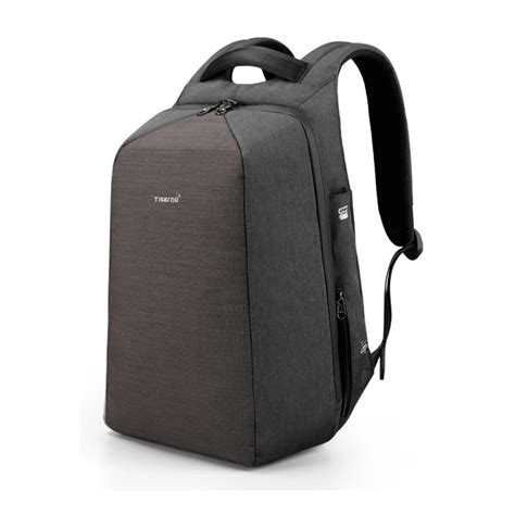 bp anti theft backpack  cable lock  usb