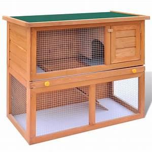 La boutique en ligne Cage Clapier Extérieur en Bois pour