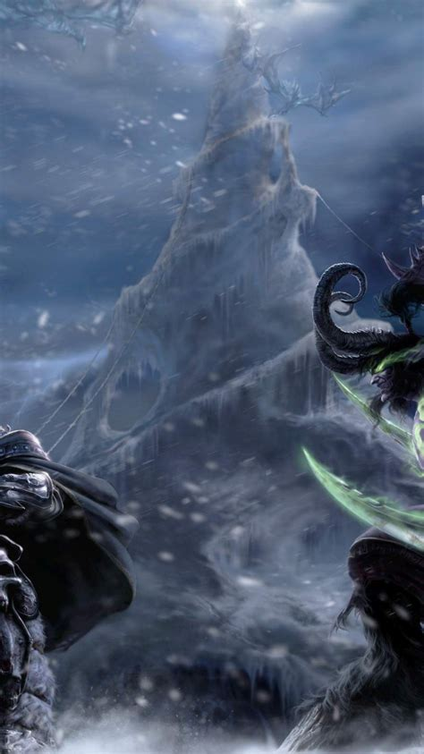 Tons of awesome aesthetic phone wallpapers to download for free. Download illidan Stormrage and Arthas Menethil Wallpaper Of Game 2560x1600 | 74+ Illidan ...