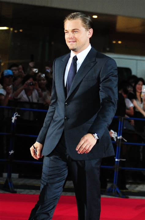 Pictures of Leonardo DiCaprio in Japan for Premiere of ...