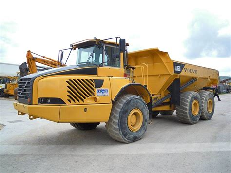 volvo ad articulated dump truck adt year