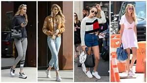 Tendance Mode Femme 2017 : tendance mode 27 plus belles baskets femme tendance 2017 ~ Preciouscoupons.com Idées de Décoration