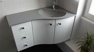 meuble d39angle pour une petite salle de bain atlantic bain With meuble salle de bain en angle