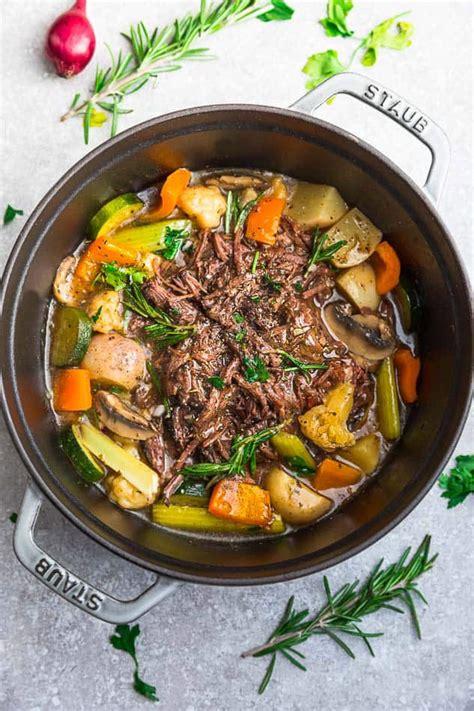 carb pot roast life  keto