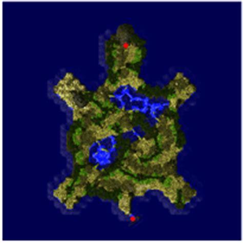 turtle island dungeon ragnarok  map