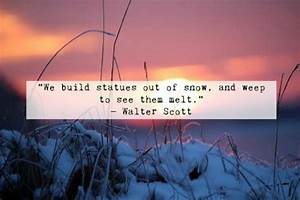10 Winter Quote... Winter Sunsets Quotes