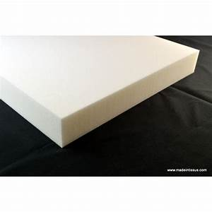 Plaque De Mousse Polyurthane 5cm 50cmx50cm MADE IN TISSUS