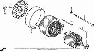 Honda Eb3500x A Generator  Jpn  Vin  Ea6